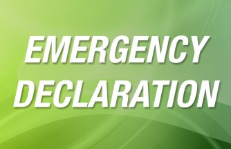 Emergency Declaration Banner